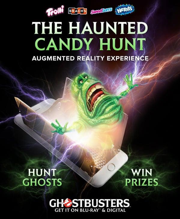 Ghostbusters Haloween AR game