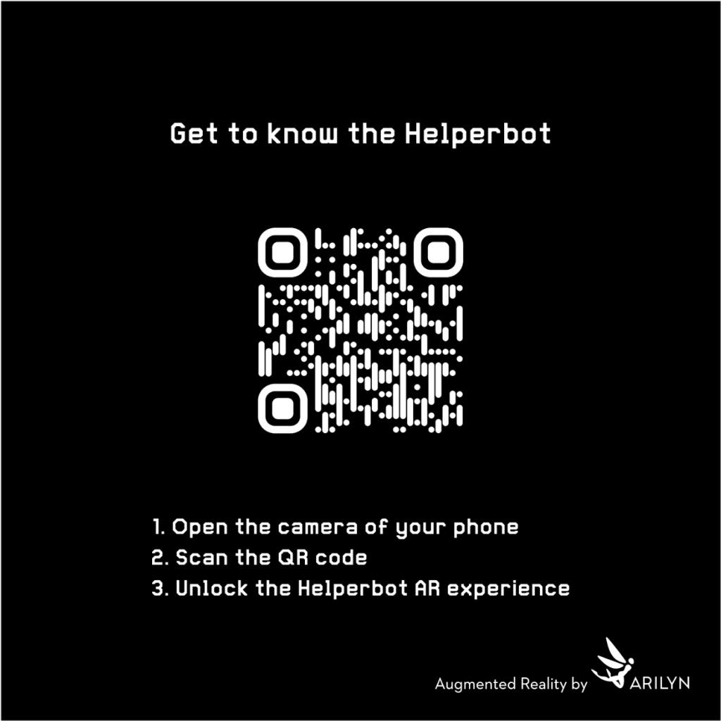 Helperbot QR code for AR