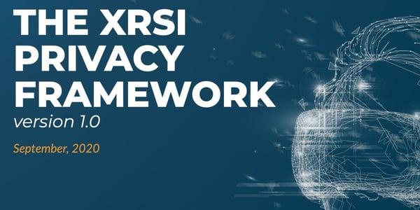 XRSI_privacy_framework