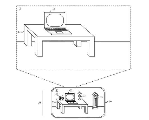 Apple AR/VR streaming recording tech patent