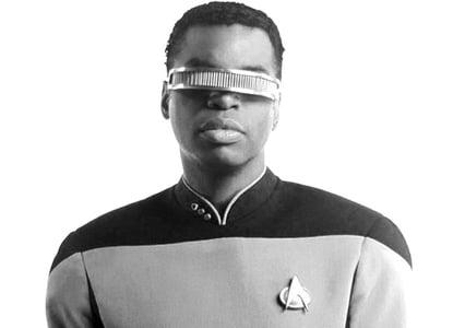 Geordi LaForge from Star Trek