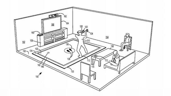Microsoft haptic mat