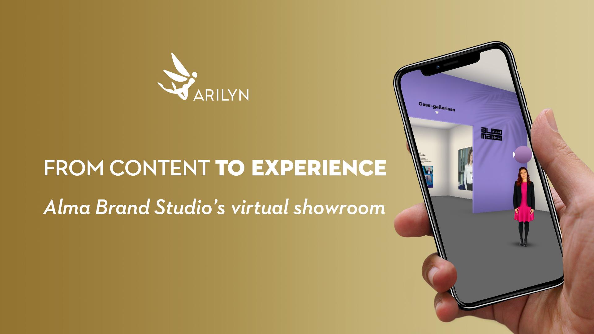 Alma Brand Studio's content marketing services in virtual showroom