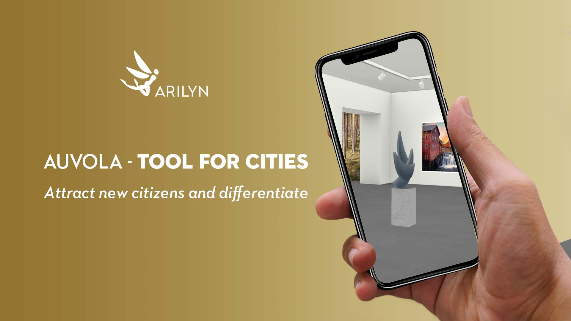 Auvola virtual space - tool for cities to differentiate and attract
