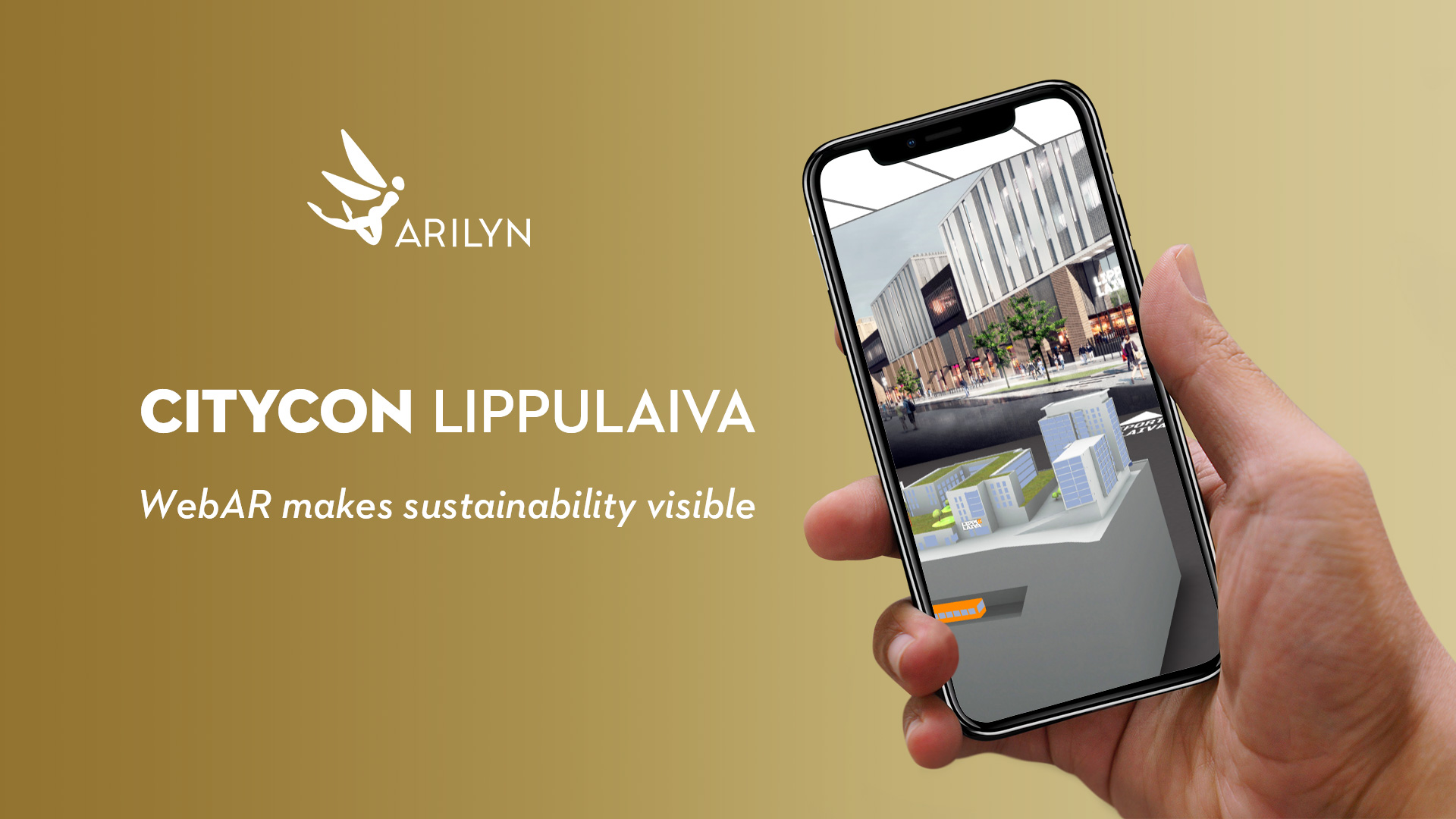 WebAR makes sustainability visible - virtual visit to Lippulaiva