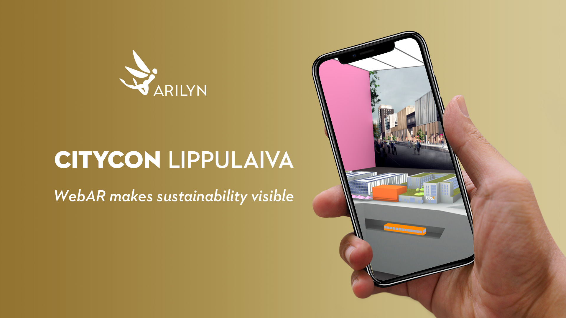 WebAR makes sustainability visible - virtual visit to Lippulaiva