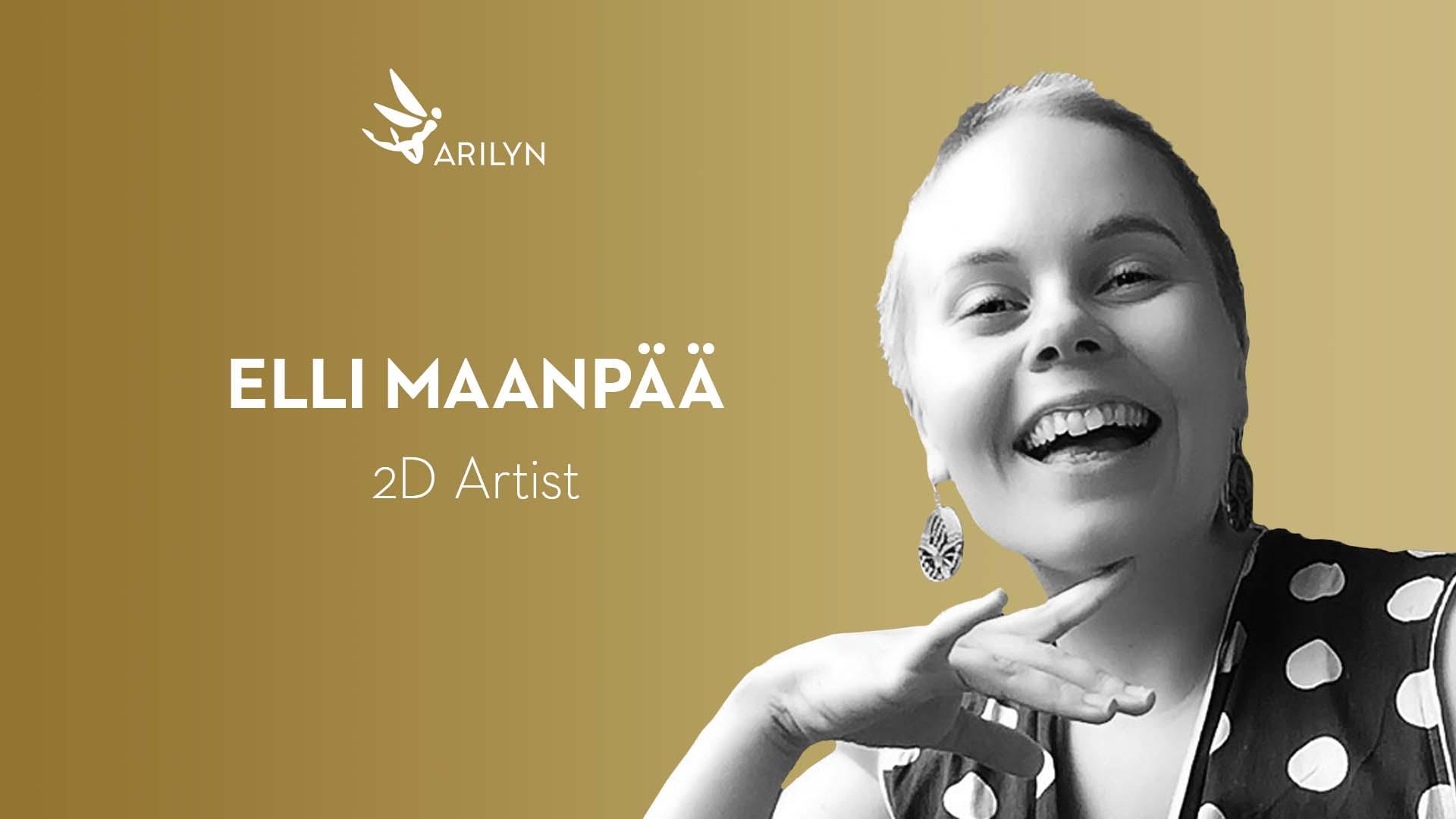 Get to know Arilyn–Elli, 2D Artist Trainee