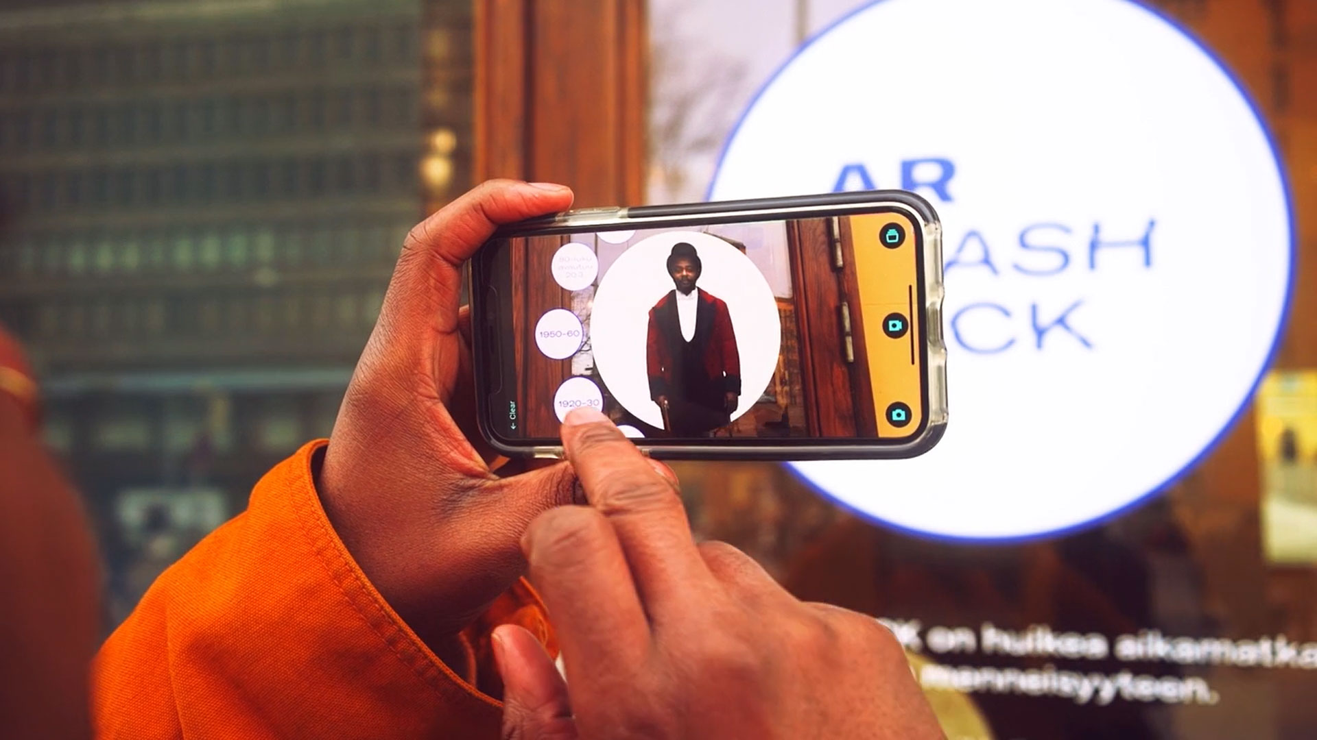 Art museum uses AR for time travel
