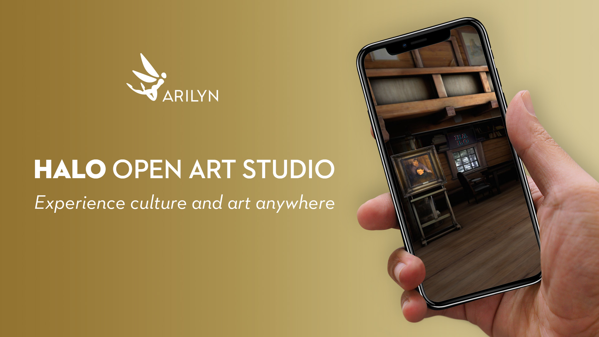 HALO Open Art Studio brings art experience right to your living room
