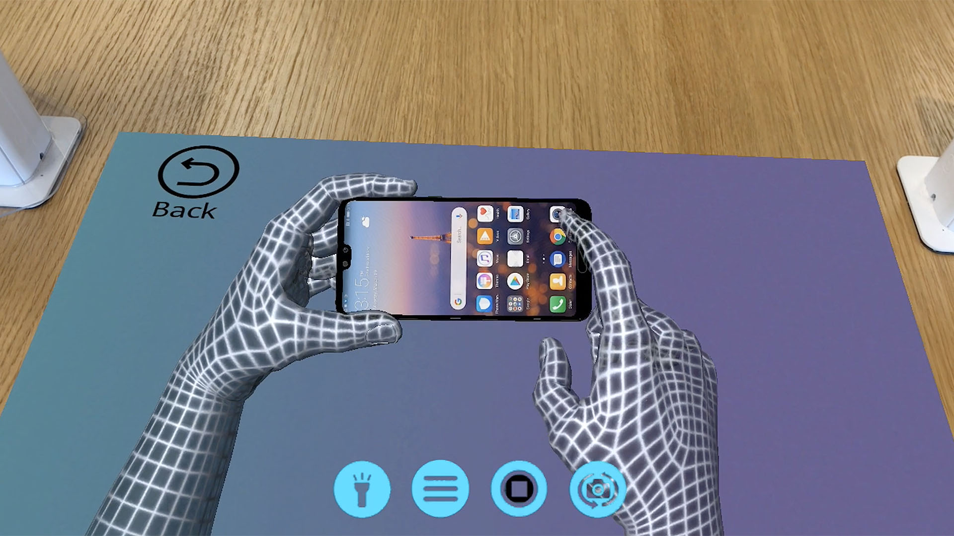 Huawei retail experience