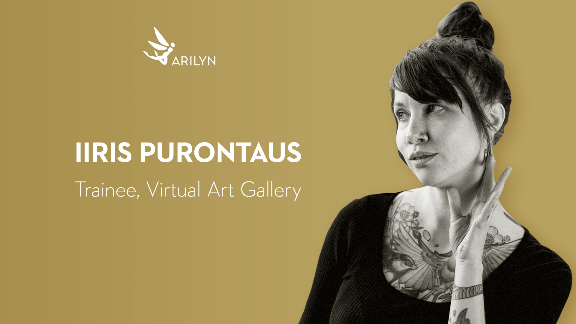 Get to know Arilyn - Iiris Purontaus, trainee for Virtual Art Gallery
