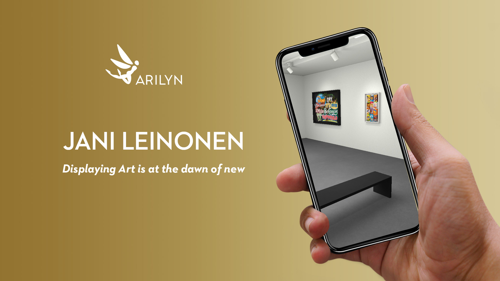 Displaying art is at the dawn of new: Jani Leinonen virtual art gallery