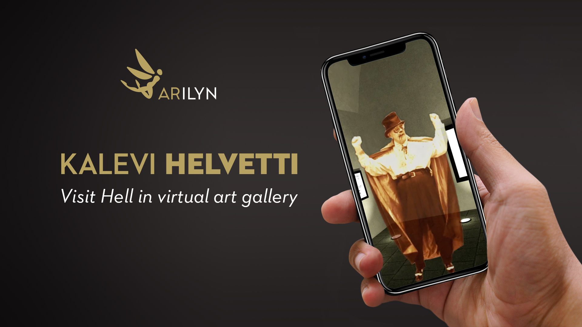 Welcome to Hell! Kalevi Helvetti virtual art gallery