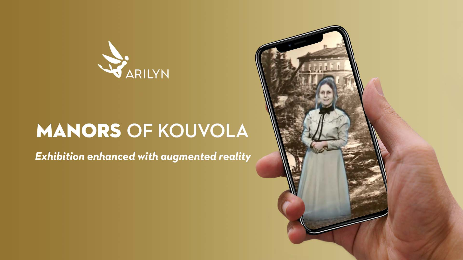 Manors of Kouvola in augmented reality