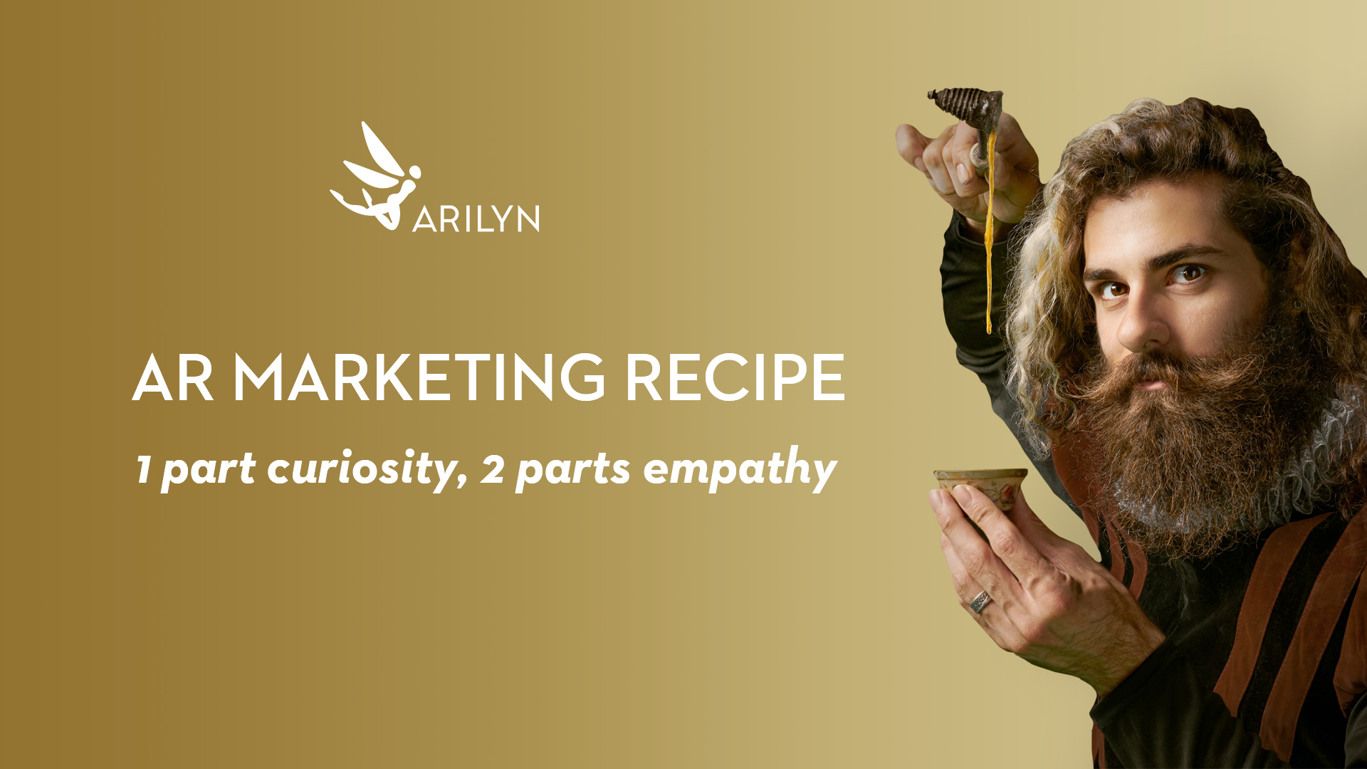 Recipe for success in AR marketing: 1 part curiosity, 2 parts empathy