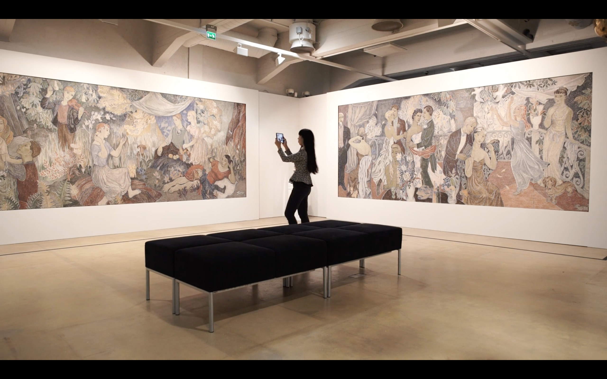 AR gave new life to famous frescoes
