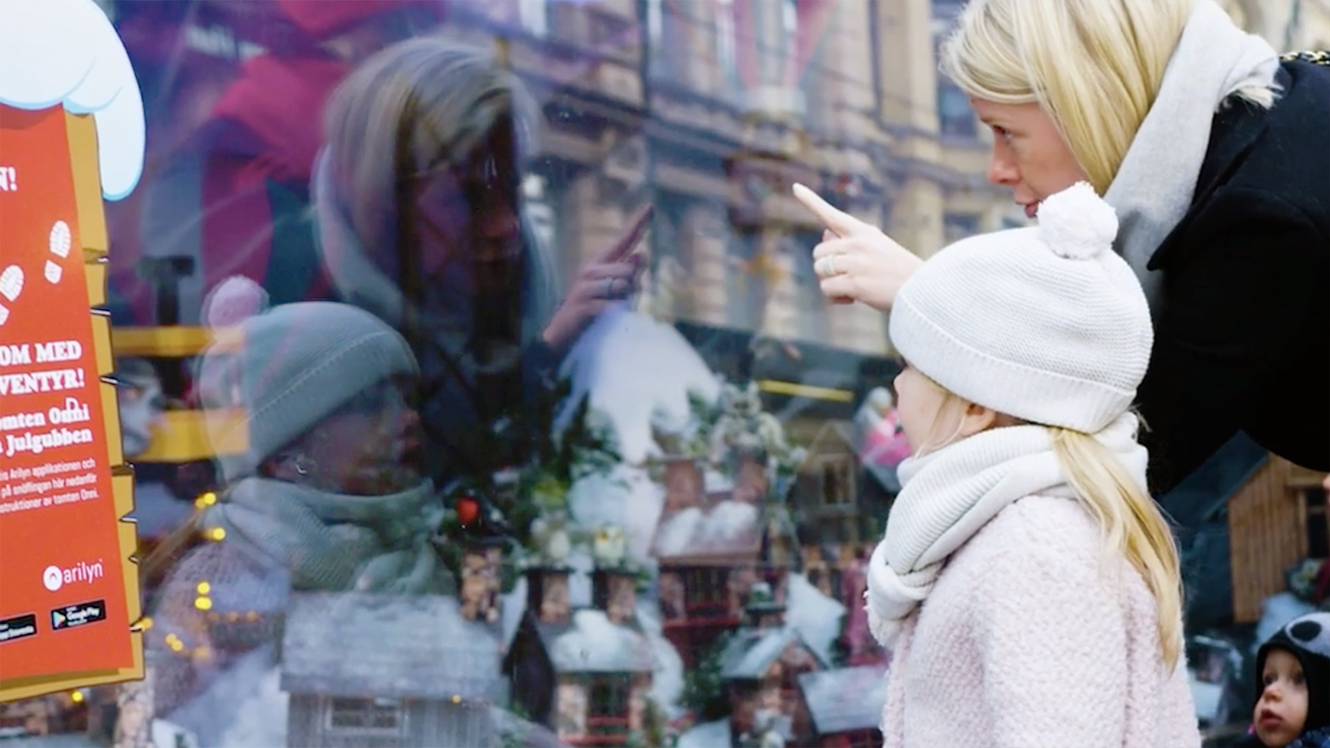 Augmented reality Christmas adventure